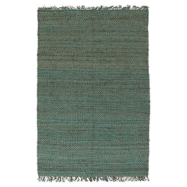 World Menagerie Pineda Teal Area Rug; 5' x 7'6''