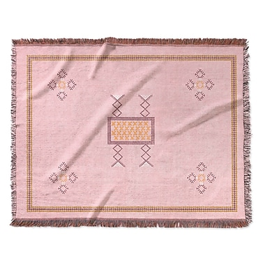 Bungalow Rose Tulelake Woven Polyester Blanket; Full
