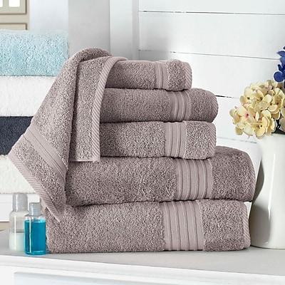 Alcott Hill 100pct Turkish Cotton Wash Cloth; Taupe