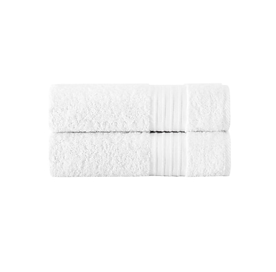 Alcott Hill Turkish Cotton Bath Sheet (Set of 2); White