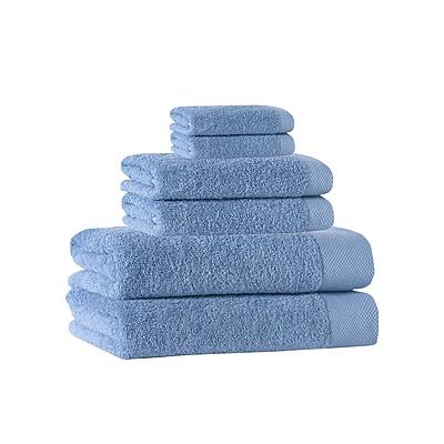 Darby Home Co 6 Piece Towel Set; Aqua