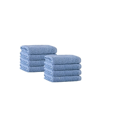 Darby Home Co Washcloth (Set of 8); Aqua