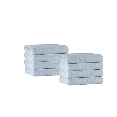 Darby Home Co Washcloth (Set of 8); Water Fall