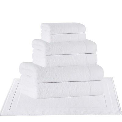 Darby Home Co 8 Piece Turkish Cotton Towel Set; White