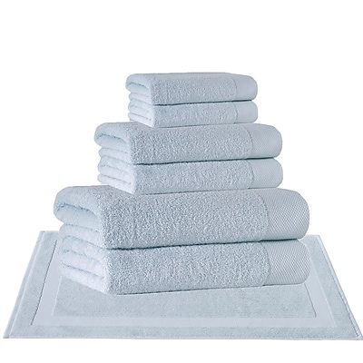 Darby Home Co 8 Piece Turkish Cotton Towel Set; Water Fall