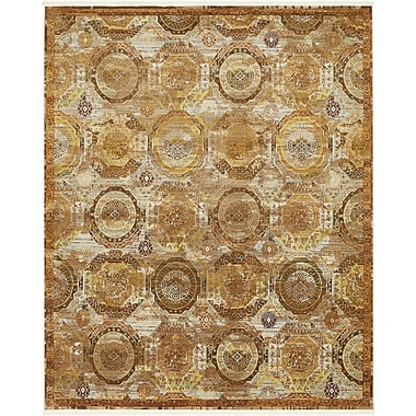 Bloomsbury Market San Marcos Brown Area Rug; Rectangle 8'4'' x 10'