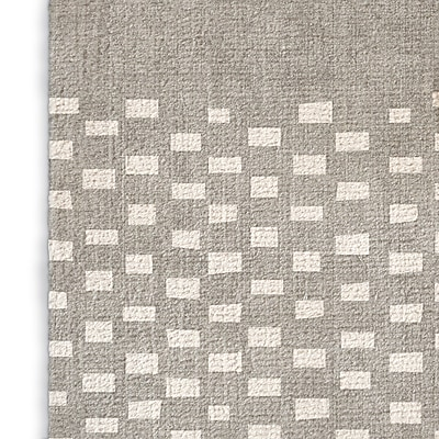 Foundry Select Rustic Gray Area Rug; Rectangle 8' x 10'