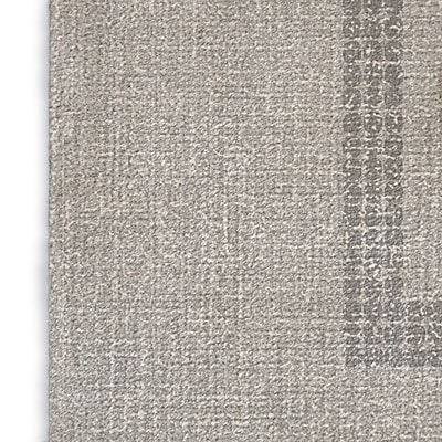 Foundry Select Geometric Gray/Red/Blue Area Rug; Rectangle 8' x 10'
