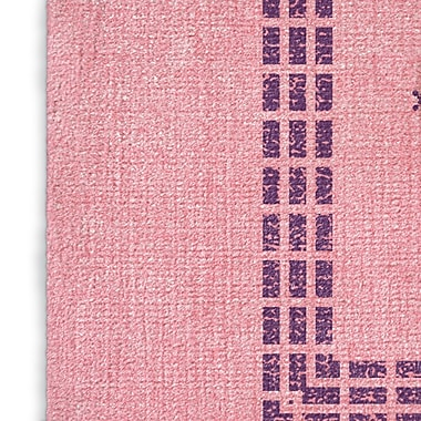 Foundry Select Pink/Purple Area Rug; Rectangle 2' x 3'