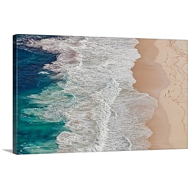 Highland Dunes 'Where the Ocean Ends' Photographic Print on Canvas; 15'' H x 24'' W x 1.5'' D