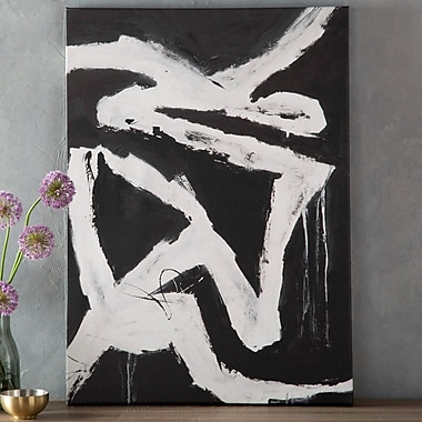Ivy Bronx 'Corners Of My Mind' Painting Print on Canvas; 30'' H x 22'' W x 1.5'' D
