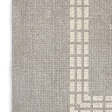 Foundry Select Gray/Red/Blue Area Rug; Rectangle 2' x 3'