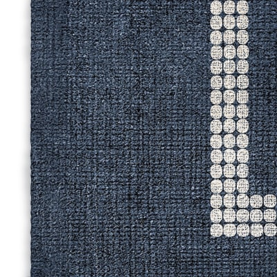 Foundry Select Blue/Red Area Rug; Rectangle 5' x 7'