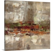 George Oliver 'Landing' Painting Print on Canvas; 24'' H x 24'' W