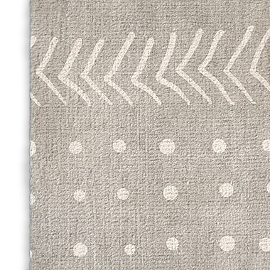 Foundry Select Inspired Gray Area Rug; Rectangle 3' x 5'