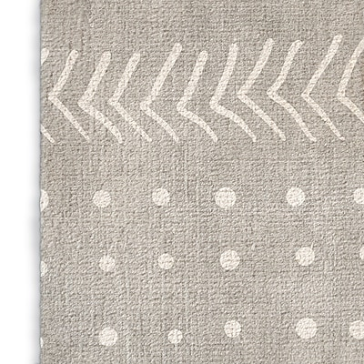 Foundry Select Inspired Gray Area Rug; Rectangle 8' x 10'