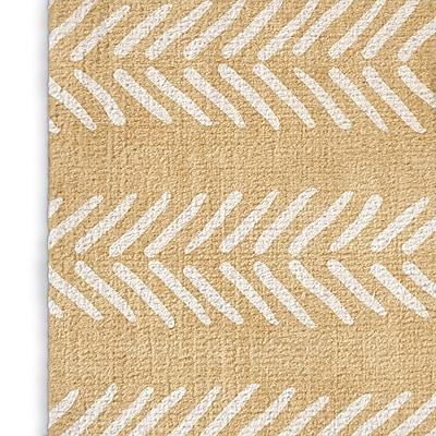 Foundry Select Cream Area Rug; Rectangle 3' x 5'