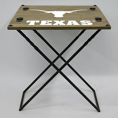 Evergreen Enterprises, Inc 19.9'' Rectangular Folding Table; University of Texas at Austin