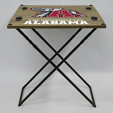 Evergreen Enterprises, Inc 19.9'' Rectangular Folding Table; University of Alabama