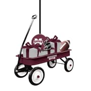 Evergreen Enterprises, Inc Team Wagon Ornament Hanging Figurine; Mississippi State University