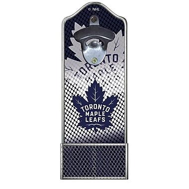 Evergreen Enterprises, Inc Lit Cap Catcher Bottle Opener; Toronto Maple Leafs