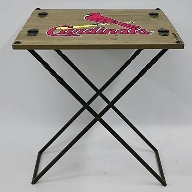 Evergreen Enterprises, Inc 19.9'' Rectangular Folding Table; St. Louis Cardinals