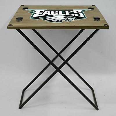 Evergreen Enterprises, Inc 19.9'' Rectangular Folding Table; Philadelphia Eagles