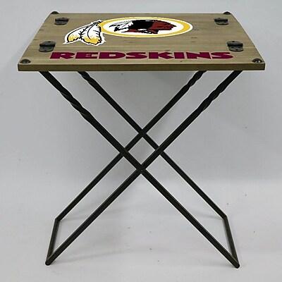 Evergreen Enterprises, Inc 19.9'' Rectangular Folding Table; Washington Redskins
