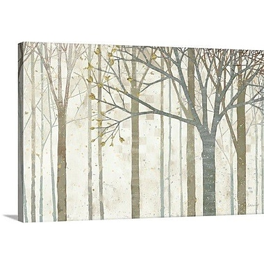 Red Barrel Studio 'In Springtime' Painting Print on Wrapped Canvas; 24'' H x 36'' W x 1.5'' D