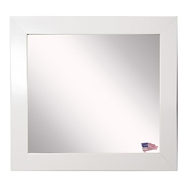 Orren Ellis Analleli Square Wall Mirror; 23.5'' H x 23.5'' W
