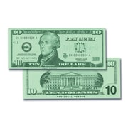 Learning Advantage $10 Bills  (Set of 100)