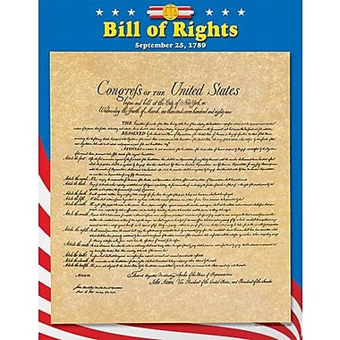 Trend Enterprises Learning Bill of Rights Chart