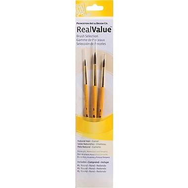 Princeton Artist Brush RealValue Natural Camel Round Brushes