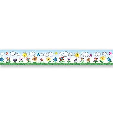Carson Dellosa Publications Flowers Kid-drawn Classroom Border
