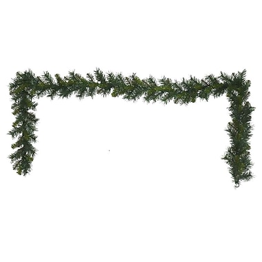 August Grove Multi Pine Garland w/ 160 Tips (Set of 2)