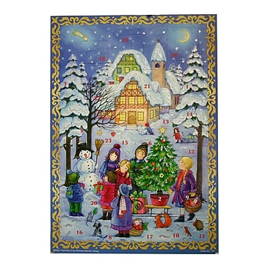 The Holiday Aisle Sellmer Outdoor Winter Scene Advent Calendar