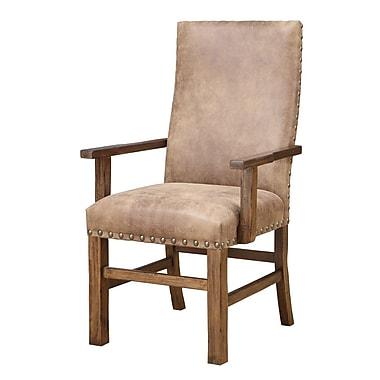 Loon Peak Lyons Arm Chair in Almond (Set of 2)