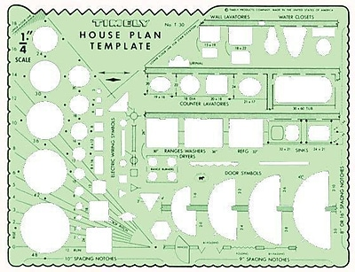 Timely House Plan Template