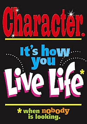 Trend Enterprises Character Its How You Live Poster