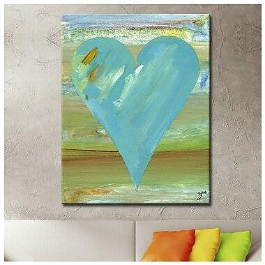 Ready2hangart Zane Heartwork ''Jason'' 2 Piece Painting Print on Wrapped Canvas Set