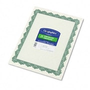 GEOGRAPHICS Parchment Paper Certificate
