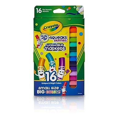 Crayola 16 Ct Pip-squeaks Skinnies Markers