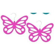 Home Basics Butterfly Scarf Hanging Organizer (Set of 2); Pink