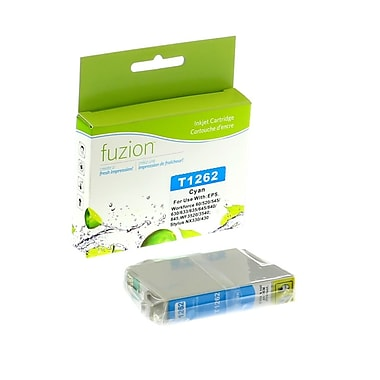 fuzion™ Compatible Epson T126220 HY Cyan Ink Cartridges, Standard Yield (T126220)