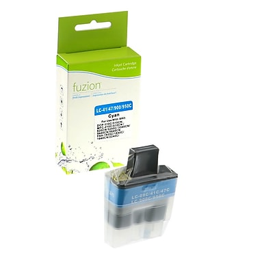fuzion™ New Compatible Brother LC41 Cyan Ink Cartridges, Standard Yield (LC41C)