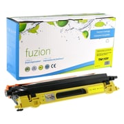 FuzionMC - Cartouche recyclée de toner jaune compatible Brother HL4040, rendement standard (TN115Y)