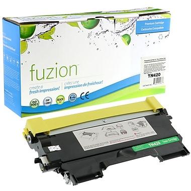 fuzion - Cartouche de toner noir neuve, compatible Brother TN420, rendement standard (TN420)