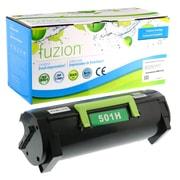fuzion™ New Compatible Lexmark MS310D HY Black Toner Cartridges, Standard Yield (50F1H00)
