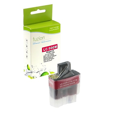 fuzion™ New Compatible Brother LC41 Magenta Ink Cartridges, Standard Yield (LC41M)