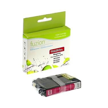 Fuzion - Nouvelle cartouche d'encre compatible avec Epson Expression XP320, haut rendement, magenta (2203XL)